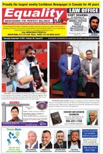 Equality Newspaper - September 8, 2021 - Pelted