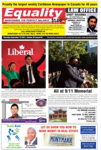 Equality Newspaper - September 23, 2021 - A Win...Sort of