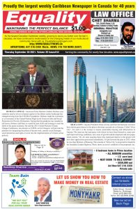 Equality Newspaper - September 30, 2021 - Human Capital