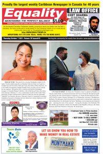 Equality Newspaper - October 7, 2021 - Tragic End